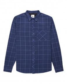 Белый мужская фланелевая рубашка lumber