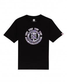 Черный детская футболка maple icon