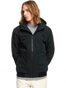 Черный водостойкая куртка new brooks 5k