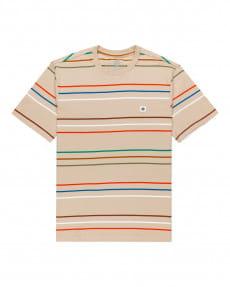 Бежевый мужская футболка hovden