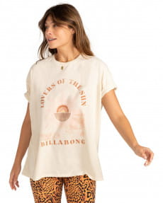 Белый женская футболка shine bright