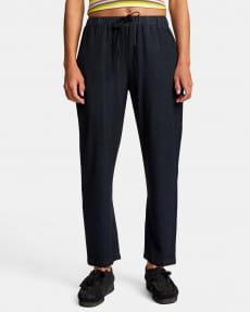 Бирюзовый женские брюки из вискозы с высокой талией blank stare