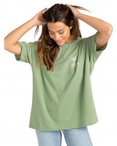 Зеленый женская футболка local spot