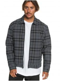 Серый мужская куртка check