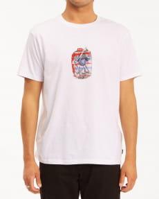 Мультиколор мужская футболка bud crusher