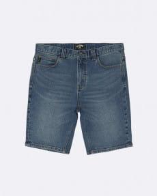 """Синие мужские джинсовые шорты outsider denim 20"""""""