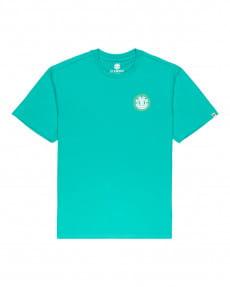 Бирюзовый мужская футболка seal bp