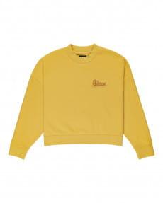 Желтый женский свитшот baleek