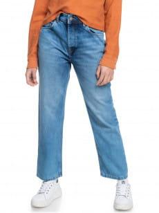 Бежевые джинсы in a minute straight fit