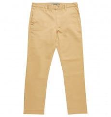 Голубой брюки-чинос worker