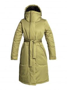 Бежевый водостойкая куртка evahna