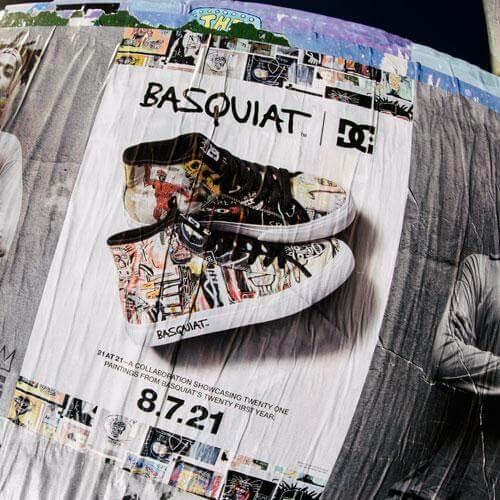 DC Shoes X Basquiat