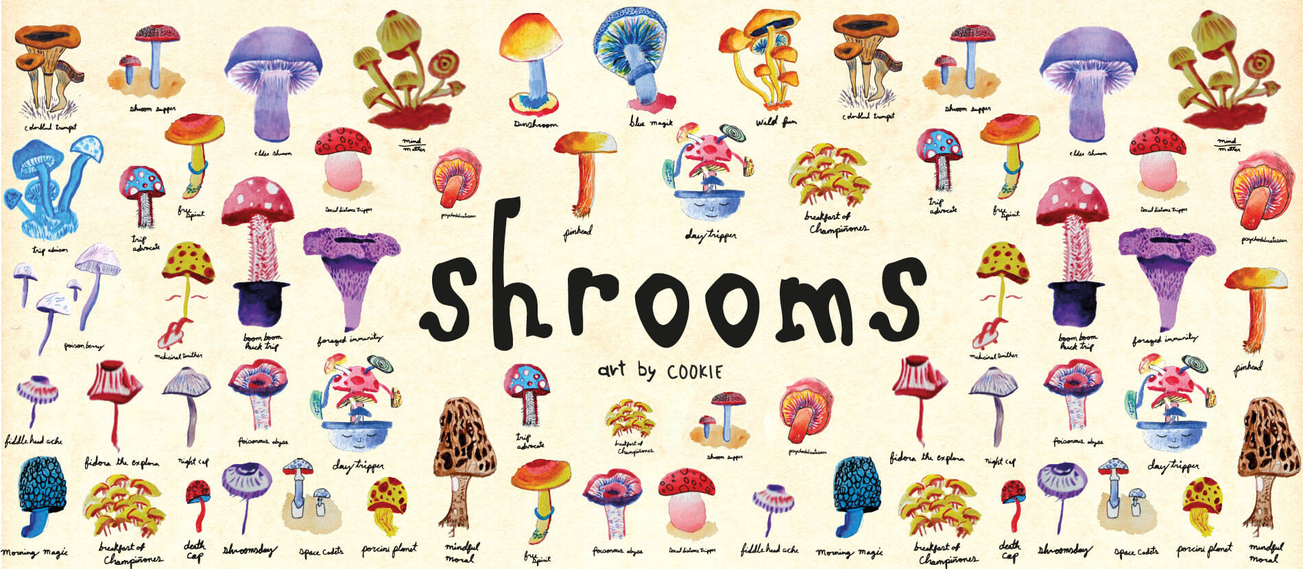 Element Shrooms Pack