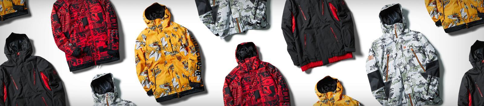 Мужские снобордические куртки