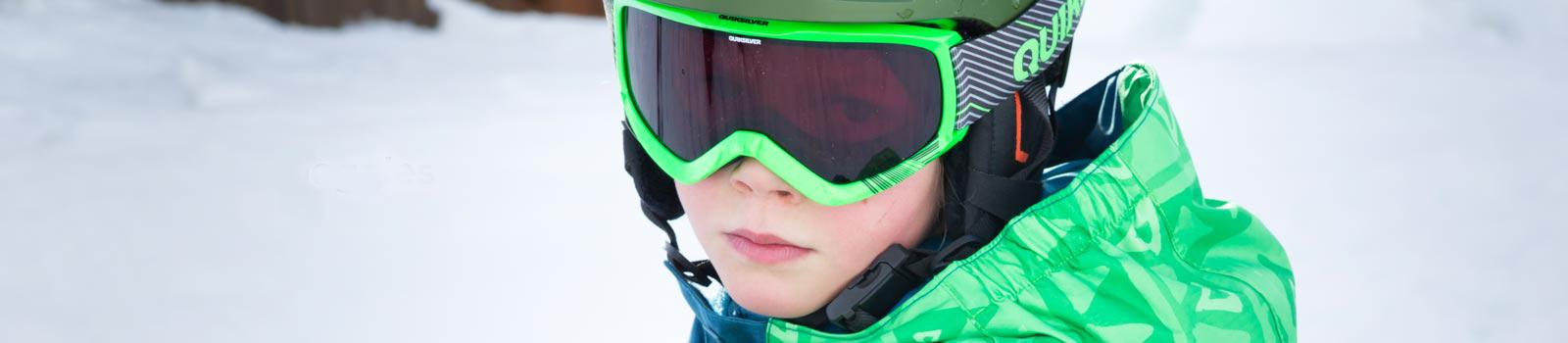 Детские сноубордические маски