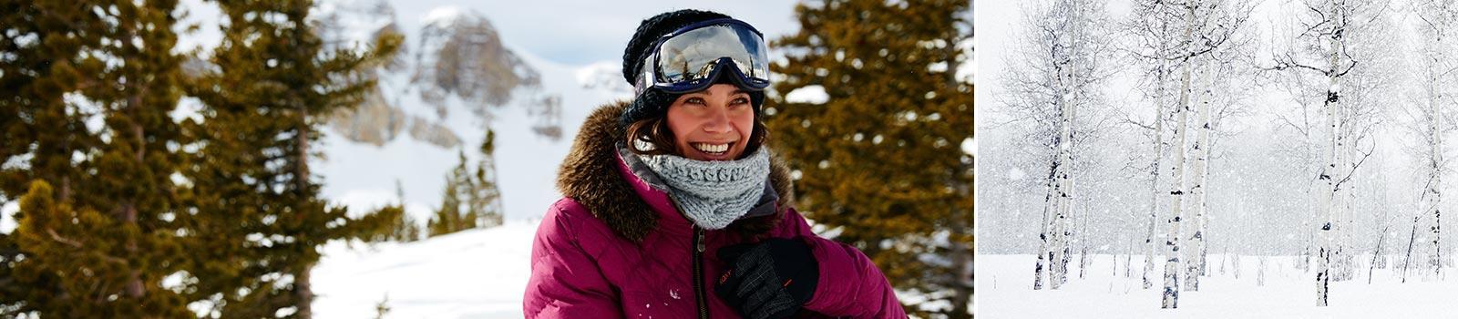 Женские сноубордические шарфы